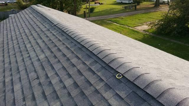 image of a grey roof