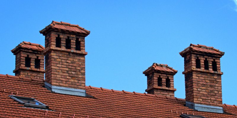 a terracotta roof