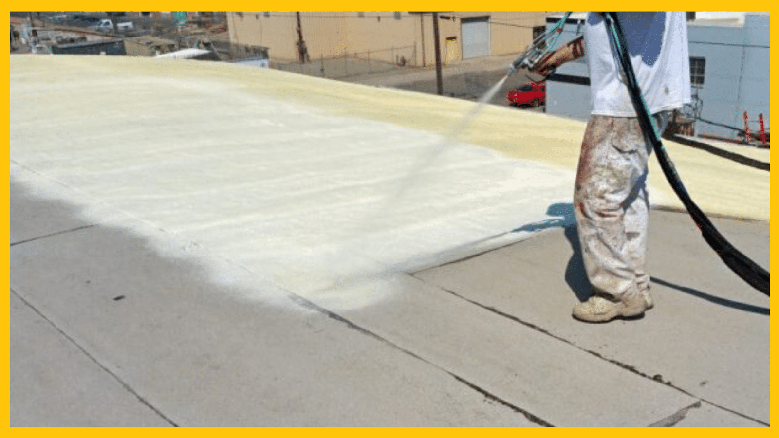 Commercial SPF | Spray Polyurethane Foam Roofing | Professional Roofers
